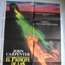 Cine: PÓSTER ORIGINAL EL PRÍNCIPE DE LAS TINIEBLAS. JOHN CARPENTER. Lote 43372773