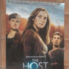Cine: POSTER THE HOST LA HUESPED, ORIGINAL DE VIDEOCLUB, SIN DOBLAR. Lote 43384970