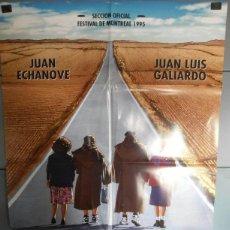 Cine: SUSPIROS DE ESPAÑA (Y DE PORTUGAL),JUAN ECHANOVE, JUAN LUIS GALIARDO CARTEL DE CINE ORIGINAL 70X100 . Lote 43411374