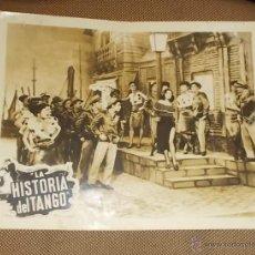 Cine: AFICHE DE LA PELICULA LA HISTORIA DEL TANGO. 35.5 X 28CM. Lote 43432655