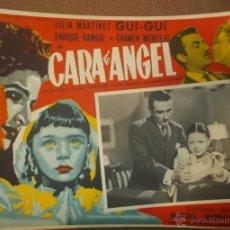 Cinema - AFICHE DE LA PELICULA CARA DE ANGEL. 42 X 32CM. LILIA MARTINEZ, ENRIQUE RAMBAL - 43434041