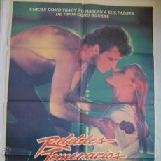 Cine: PÓSTER ORIGINAL REBELDES TEMERARIOS (1984). Lote 43478849