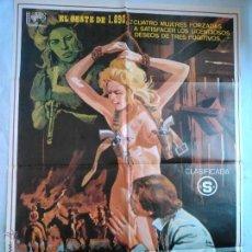 Cine: PÓSTER ORIGINAL PISTOLAS CALIENTES (1982). Lote 43525731