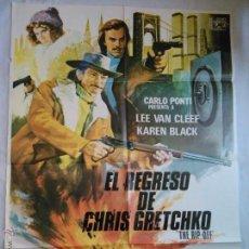 Cine: PÓSTER ORIGINAL EL REGRESO DE CHRIS GRETCHKO. Lote 43526218