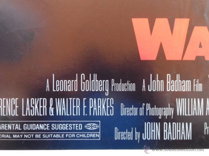 Cine: War Games (Juegos de Guerra) Póster original de la pelicula, Original, Doblado,U.S.A., año 1983 - Foto 7 - 43638039