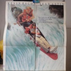 Cine: POSTER ORIGINAL AGUAS PELIGROSAS WHITE WATER SUMMER KEVIN BACON SEAN ASTIN JONATHAN WARD COLUMBIA. Lote 39903825