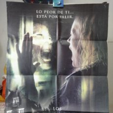 Cine: POSTER ORIGINAL LOS HABITANTES THE ABANDONED ANASTASIA HILLE KAREL RODEN VALENTIN GOSHEV NACHO CERDA. Lote 39944971