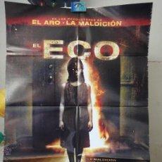 Cine: POSTER ORIGINAL EL ECO ECHO JESSE BRADFORD AMELIA WARNER CARLOS LEON YAM LARANAS 2008 DOBLE LADO. Lote 39975324
