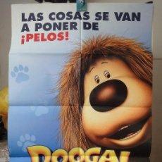 Cine: POSTER ORIGINAL DOOGAL AVENTURAS PELUDAS DAVE BORTHWICK JEAN DUVAL FRANK PASSINGHAM 2006 DOBLE LADO. Lote 39975378