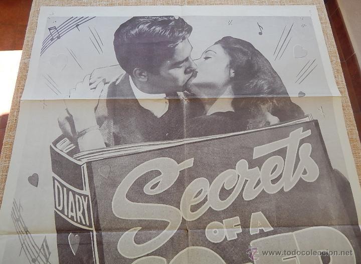 Cine: Secrets of a Co-Ed Póster original de la película, Original, Doblado, Reproducción de 1948, U.S.A. - Foto 2 - 43656915