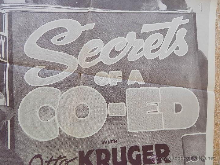 Cine: Secrets of a Co-Ed Póster original de la película, Original, Doblado, Reproducción de 1948, U.S.A. - Foto 8 - 43656915
