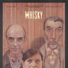 Cine: CARTEL DE CINE WHISKY // ORIGINAL TAMAÑO 70X100. Lote 43657686