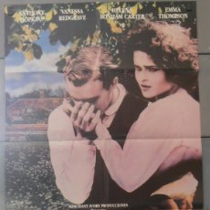 Cine: REGRESO A HOWARDS END, CARTEL DE CINE ORIGINAL 70X100 APROX (2800). Lote 43659185