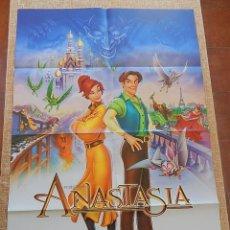 Cine: ANASTASIA PÓSTER ORIGINAL DE LA PELÍCULA, ORIGINAL, DOBLADO, DOBLE CARA, TEASER, ESTILO B, AÑO 1997. Lote 43663325
