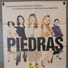 Cine: PIEDRAS,ANGELA MOLINA CARTEL DE CINE ORIGINAL 70X100 APROX (3042). Lote 43677114