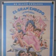 Cine: EL GRAN ENREDO, CARTEL DE CINE ORIGINAL 70X100 APROX (3104). Lote 43677149
