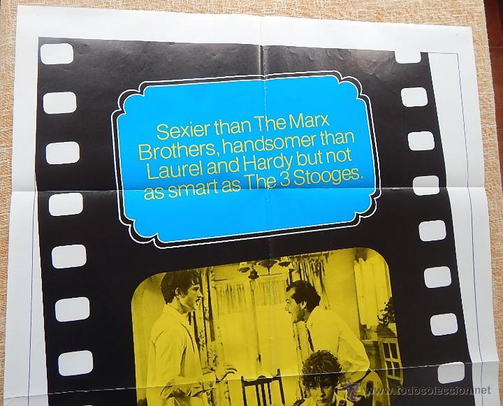 Cine: The Fortune Póster original de la película, Original, Doblado, año 1975, Hecho en U.S.A. - Foto 2 - 43680682
