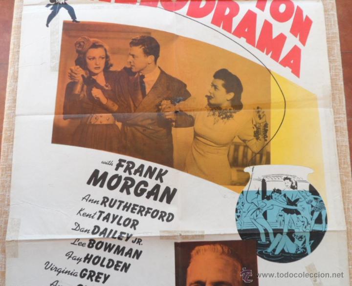 Cine: Washington Melodrama Póster original de la película, Original, Doblado, Hecho en U.S.A., año 1941 - Foto 3 - 43701910