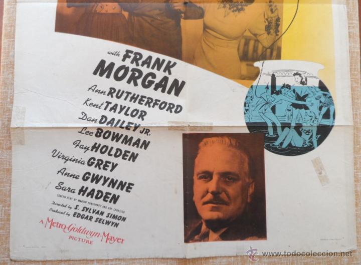 Cine: Washington Melodrama Póster original de la película, Original, Doblado, Hecho en U.S.A., año 1941 - Foto 4 - 43701910
