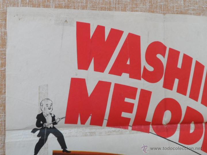 Cine: Washington Melodrama Póster original de la película, Original, Doblado, Hecho en U.S.A., año 1941 - Foto 6 - 43701910