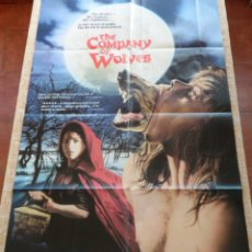 Cine: THE COMPANY OF WOLVES PÓSTER ORIGINAL DE LA PELÍCULA, ORIGINAL, DOBLADO, HECHO EN U.S.A., AÑO 1985. Lote 43702873