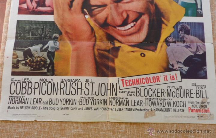 Cine: Come Blow Your Horn Póster original de la película, Original, Doblado, Hecho en U.S.A., año 1963 - Foto 4 - 43725121