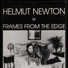 Cinéma: FRAMES FROM THE EDGE - HELMUT NEWTON - 1989 - POSTER CINE FRANCES. Lote 43732343