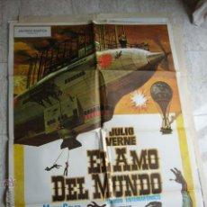 Cine: CARTEL DE CINE- MOVIE POSTER. EL AMO DEL MUNDO. JULIO VERNE. Lote 43735617