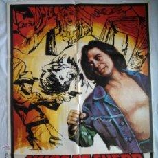 Cine: PÓSTER ORIGINAL NUBE DE FUEGO (1977). Lote 43737333