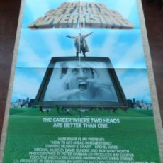 Cine: HOW TO GET AHEAD IN ADVERTISING PÓSTER ORIGINAL DE LA PELÍCULA, ORIGINAL, DOBLADO, U.S.A., AÑO 1989. Lote 43741811