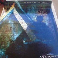 Cine: ATLANTIS: THE LOST EMPIRE PÓSTER ORIGINAL DE LA PELÍCULA, ORIGINAL, ENROLLADO, DOBLE CARA, TEASER. Lote 43763938