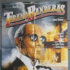 Cine: TIRANO BANDERAS,ANA BELEN, JUAN DIEGO CARTEL DE CINE ORIGINAL 70X100 APROX (3826). Lote 43765411