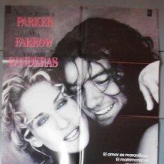 Cine: MIAMI,A.BANDERAS, MIA FARROW CARTEL DE CINE ORIGINAL 70X100 APROX (3860). Lote 43765530