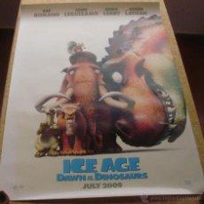 Cine: ICE AGE: DAWN OF THE DINOSAURS PÓSTER ORIGINAL DE LA PELÍCULA, ORIGINAL, ENROLLADO, TEASER, ESTILO A. Lote 43778910