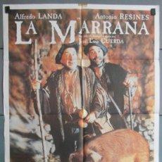 Cine: LA MARRANA,ALFREDO LANDA, ANTONIO RESINES CARTEL DE CINE ORIGINAL 70X100 APROX (4487). Lote 43844241