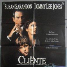 Cinéma: EL CLIENTE,SUSAN SARANDON CARTEL DE CINE ORIGINAL 70X100 APROX (4815). Lote 43858529