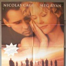 Cine: CITY OF ANGELS,NICOLAS CAGE, MEG RYAN CARTEL DE CINE ORIGINAL 70X100 APROX (4986). Lote 43858822