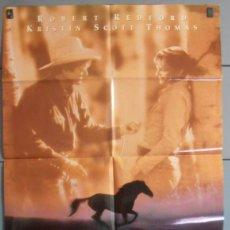 Cine: EL HOMBRE QUE SUSURRABA A LOS CABALLOS,ROBERT REDFORD CARTEL DE CINE ORIGINAL 70X100 APROX (5060). Lote 43858968
