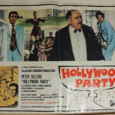 Cine: POSTER LOBBY CARD ITALIANO ORIGINAL EL GUATEQUE HOLLYWOOD PARTY BLAKE EDWARDS PETER SELLERS. Lote 43897414