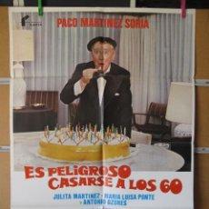 Cine: ES PELIGROSO CASARSE A LOS 60. Lote 43963893
