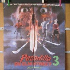 Cine: PESADILLA EN ELM STREEET 3. Lote 43971775