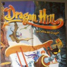 Cine: DRAGON HILL, CARTEL DE CINE ORIGINAL 70X100 APROX (5898). Lote 43972169