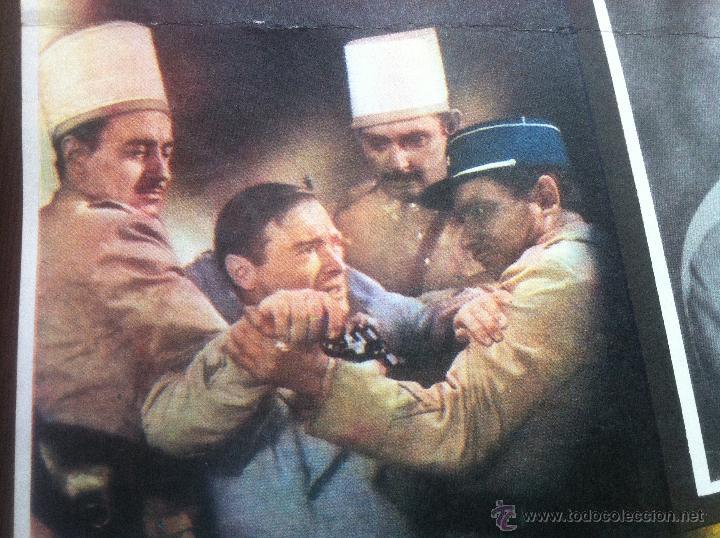 Cine: Precioso y unico cartel antiguo de la pelicula Casablanca - muy buen estado de conservación - - Foto 6 - 43981184