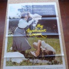 Cine: MY BRILLIANT CAREER PÓSTER ORIGINAL DE LA PELÍCULA, ORIGINAL, DOBLADO, AÑO 1980, HECHO EN U.S.A.. Lote 44012665
