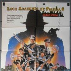 Cine: LOCA ACADEMIA DE POLICIA 6, CARTEL DE CINE ORIGINAL 70X100 APROX (7678). Lote 44036613
