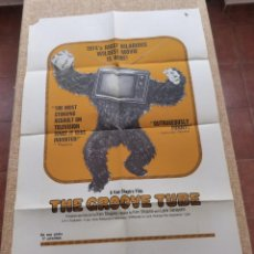 Cine: THE GROOVE TUBE PÓSTER ORIGINAL DE LA PELÍCULA, ORIGINAL, DOBLADO, AÑO 1974, HECHO EN U.S.A.. Lote 44036717