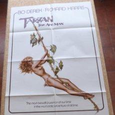 Cine: TARZAN: THE APE MAN PÓSTER ORIGINAL DE LA PELÍCULA, ORIGINAL, DOBLADO, AÑO 1981, HECHO EN U.S.A.. Lote 44037745