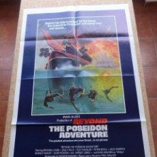 Cine: BEYOND THE POSEIDON ADVENTURE PÓSTER ORIGINAL DE LA PELÍCULA, ORIGINAL, DOBLADO, AÑO 1979, U.S.A.. Lote 44053550