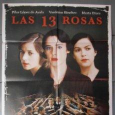 Cine: LAS 13 ROSAS, CARTEL DE CINE ORIGINAL 70X100 APROX (8321). Lote 44055691