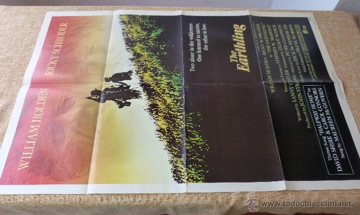 Cine: The Earthling Póster original de la película, Original, Doblado, año 1981, Hecho en U.S.A. - Foto 2 - 44067175